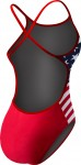 Women's Stars and Stripes Crosscutfit Swimsuit American Flag Suit