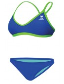 Women's Crosscutfit Solid Brites Workout Bikini
