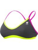 Women's Solid Brites Crosscutfit Bikini Top
