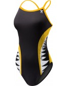 Girl's Shark Bite Diamondfit Swimsuit