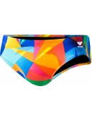"Men's Quartz Crosscutfit All Over 2"" Racer Swimsuit"