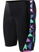 Men's Kaleidoscope Legend Splice Jammer Swimsuit