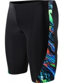 Men's Oil Slick Legend Splice Jammer Swimsuit