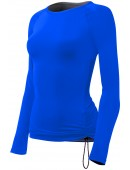 Women's Solid Active Long Sleeve Swim Shirt