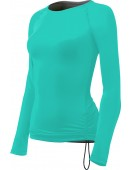Women's Solid Long Sleeve Swim Shirt