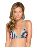 Women's HB Stripes Triangle Bikini Bra