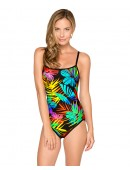Women's HB Floral Binded One Piece Swimsuit