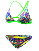 "Women's The Grizz Triangle Bikini Bra w/ 1"" Bottom"
