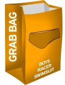 Boy's Grab Bag Racer Swimsuits