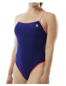 Women's TYR Pink Double Binding Reversible Diamondfit Swimsuit