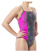 Women's TYR Pink Viper Diamondfit Swimsuit