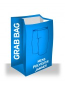 Men's Grab Bag Polyester Jammer Swimsuits