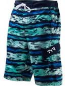 Men's Paint Stripe Springdale Boardshort