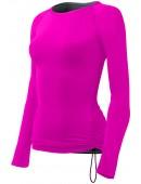 Women's Solid Long Sleeve Swim Shirt