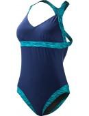Women's Sonoma V-Neck Open Back Swimsuit