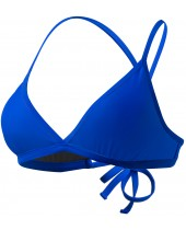 Women's Solid Active Triangle Bikini