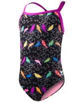 Girls' Chicadee Diamondfit Swimsuit
