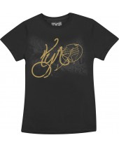 Women's Gold Status Graphic Tee