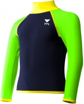 Boy's Solid Rash Guard