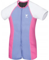 Girl's Solid Thermal Suit