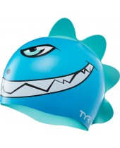 Kids' CharacTYR Dino Destroyer Swim Cap