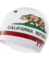 California Republic Swim Cap