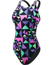 Girl's Kaleidoscope Maxfit Swimsuit
