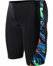 Boy's Oil Slick Legend Splice Jammer Swimsuit