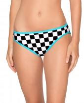 Women's HB Checkers Classic Bikini Bottom