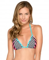 Women's HB Stripes Triangle Bra