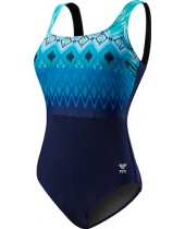 Women's Baltic Stripe Aqua Conrtolfit