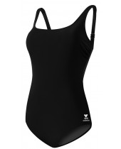 Women's Solid Scoop Neck Controlfit Swimsuit