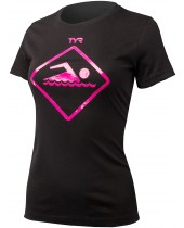 Women's Swim Sign Graphic T-Shirt