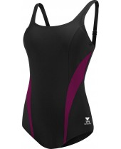 Women's Splice Scoop Neck Controlfit Swimsuit