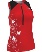 Women's Competitor Printed Singlet