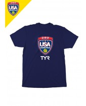 Required USA Water Polo Unisex ODP Tee (M/W 3 of 3)