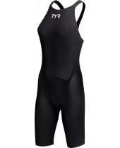 Women's Avictor Solid Open Back Swimsuit