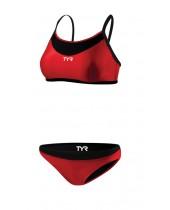 Women's Competitor Thin Strap Reversible Bikini