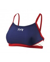 Women's Carbon Thin Strap Tri-Support Bra