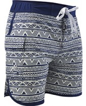 Men's Native Stripe Bulldog Swim Short
