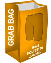 Boy's Grab Bag Polyester Jammer Swimsuits