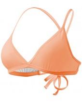 Women's Solid Triangle Bikini Top