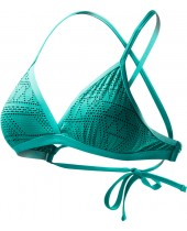 Women's Topaz Peak Mesh Triangle Bikini Top