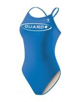 Women's Guard Solid Diamondfit Swimsuit