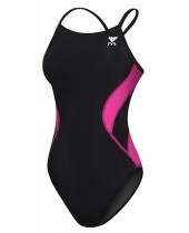 TYR Pink Women's Splice Diamondfit Swimsuit
