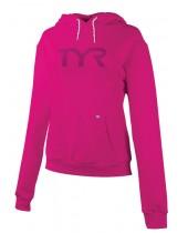Women's TYR Pink Big Logo Event Hoodie