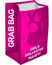Girl's Grab Bag Polyester Maxfit Swimsuits