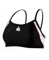 Women's Ironman Printed Thin Strap Bra