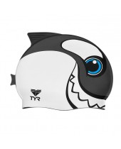 Kids' CharacTYR Happy Whale Swim Cap