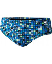 Men's Tyr Check All Over Racer Swimsuit